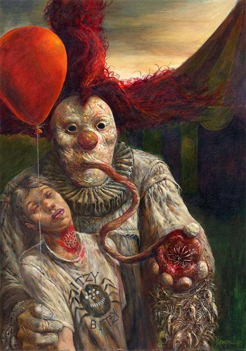 clown-paintings-sucking-throat
